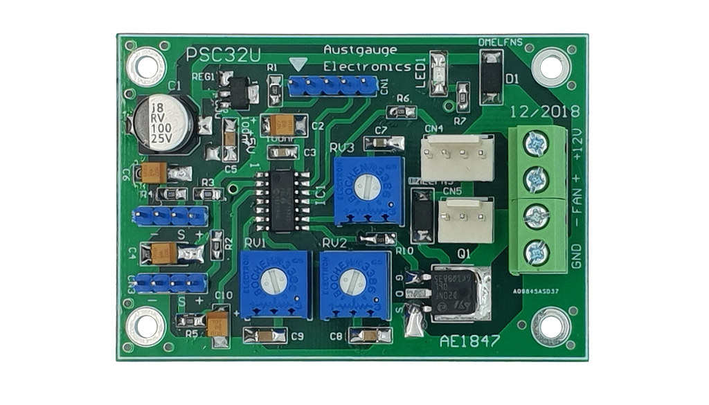 Twin Sensor Temperature Controlled PWM Universal Fan Controller
